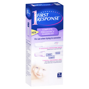 First Response Complete Pregnancy Planning Kit 7 x Ovulation 1 x Pregnancy Tests