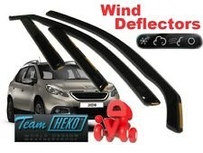 Peugeot 2008  5.doors  2013 - ON  Wind deflectors  4.pc  HEKO 26152