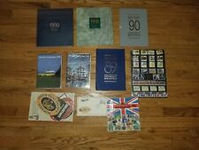 Large stamp collection Singapore Hard Cover Year book The 1990 1991collection