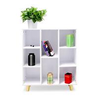 Cabinet Book Storage Shelf Rack Bookcase DIY Cabinet Organizer Bookshelf Display