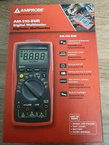 Beha-Amprobe Fluke Digitalmultimeter AM-510-EUR Multimeter 4102344