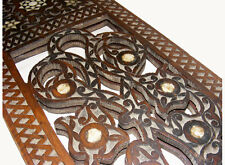 Antique orient carved islamic wood Koran quran Stand from syrian 19 Jh. NO-1