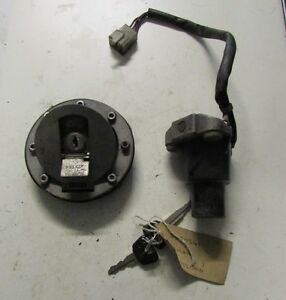 Yamaha FZR1000 RV 1991 FZR 1000 Lock Set Ignition Fuel Tank Cap and Key