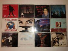 MICHAEL JACKSON lot stock 12 cd single Earth Song Black Or White Heal The World