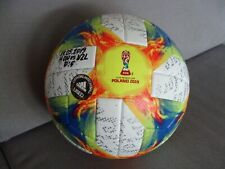 ADIDAS U-20 World Cup Poland 2019 Conext 19 Official Matchball USED HON-NZL