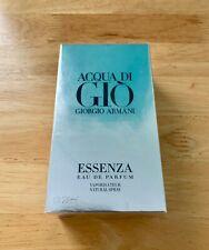 Vintage Acqua di Gio Essenza Giorgio Armani 75 ml/ 2.5 oz 2012 Batch 38J200