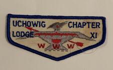 OA Lodge 11 Uchowig Chapter Flap