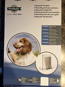 PetSafe Freedom Aluminum Pet Dog and Cat Door Up To 40 lbs Medium