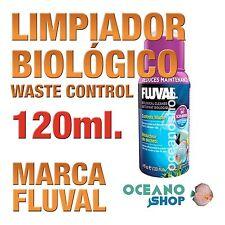 Limpiador Biológico Fluval (Waste Control) - 120ml gran calidad acuario gambario
