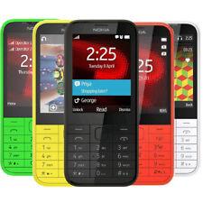 Original Nokia 225 Hebrew 2MP Bluetooth Dual SIM GSM 900/1800 Cellphone Unlocked