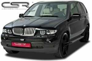 BMW X5 E53 HEADLIGHT BROWS EYEBROWS EYELIDS MASKS 2003-2006 FACELIFT MODEL