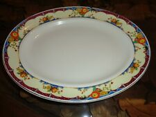 B P & Co Ltd Scotch Ivory Large Platter Dated 1947