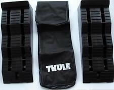 Ausgleichskeile 1 Paar Stufenkeil Keile Levellers Thule + Tasche schw. 82805mNEU