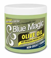 J. Strickland Africa Blue Magic Olive Oil Styling Leave in Conditioner 390 G