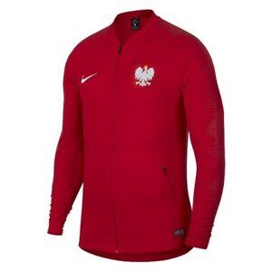 Polish Team Sweatshirt Poland Squad Jacket Anthem 893600611 red Size XL TrackTop
