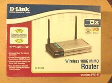 D-Link DI-624M Wireless 108G Mimo Router