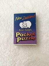 POCKET PUZZLE KIWI FAMILY NEW ZEALAND (MATCHBOX SIZE)