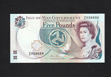 Isle of Man 5 Pounds (2015) P48 NEW, REPLACEMENT Z UNC