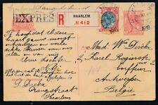 BRIEFK.5 CT.,BIJFRANK.25 CT.71 v. R-EXPRESSE HAARLEM-ANTWERPEN 29.XI.1918 Ad981
