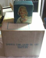 1993 SPORTS TIME CARD COMPANY MARILYN MONROE FACTORY SEALED CASE