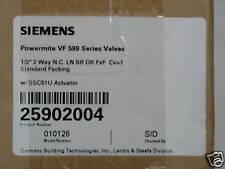 Siemens Powermite VF 599 Series Valves