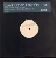 """Candi CARGADOR (12"""" Vinilo) Love Amor en-reaccionar-ex/Nuevo"""