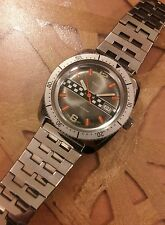 Vintage Extremely Rare Limited Edition 1977 Timex LeMans Divers Men's watch NOS