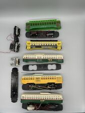 LOT of BACHMANN HO BRILL PCC TROLLEY SALVAGEABLE PARTS