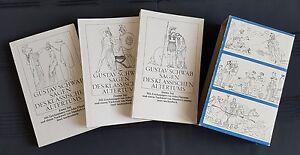 IB 127: Schwab Sagen des Altertums - Inselbuch - 3 Bände im Schuber -1982