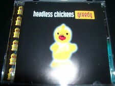 The Headless Chickens Greedy Rare Australian CD - Like New Mint