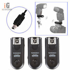 3pcs Yongnuo RF-603 II Wireless Remote Flash Trigger N3 for Nikon D7000 D5000