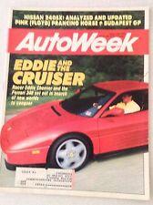 Autoweek Magazine Eddie Cheever And The Cruiser August 20, 1990 011617rh