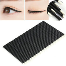 50PC Disposable Eyeliner Brush Eyeshadow Applicator Eyes Makeup Cosmetic Tool AF