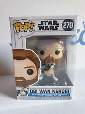 Funko Pop! Obi Wan Kenobi #270 Star Wars Clone Wars Version Vinyl Bobble-Head