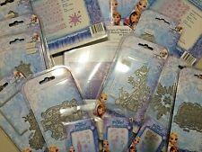 Large Disney OLAF'S FROZEN ADVENTURE Stamps Embossing Dies + A4 Paper Kit BNIP