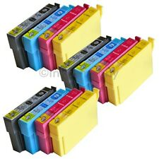 12 kompatible Tintenpatronen für den Drucker Epson SX440W S22 SX425W