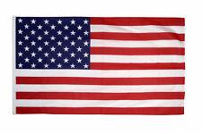 United States USA Large Flag 5 x 3 FT - 100% Polyester Stars Stripes Trump