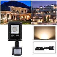 10 Watt LED Fluter Mit Sensor Bewegungsmelder Flutlicht AußenStrahler Lampe IP65