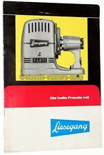 "Liesegang folleto ""Liesegang fantax 5-300/Pranchére"" proyector folleto (x2336"