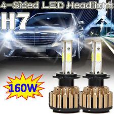 H7 Autofather LED Headlight Conversion Kit 160W 16000LM Lamp Light Bulbs 6000K