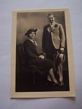 Vintage Photo Man & Woman Wedding Guests Hat & Suits Fashion