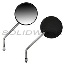 Spiegel Set Ø100mm M8 Kurzstab für SIMSON S50, S51, S53 Tuningspiegel