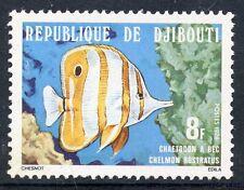 TIMBRE REPUBLIQUE DE DJIBOUTI N° 488 ** POISSON CHELMON ROSTRATUS