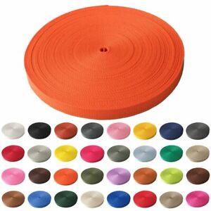 2m Gurtband 15 mm viele Farben Taschenband Trageband Tragegurt Rolladenband