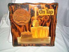 "Vintage Miller Beer High Life America Quality On Tap Wood Sign 18"" x18"""