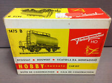 Fleischmann Germany HO 1475 B Tank Car Kit In Original Box