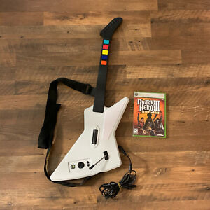 Xbox 360 Red Octane Guitar Hero Xplorer Wired Guitar with GH3 - Legends Of Rock