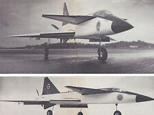1/10 Scale Sport Scale Swedish Saab 37 Viggen Plans,Templates, Instructions 42ws