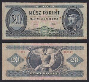 Ungheria 20 forint 1975 BB-/VF-  C-06