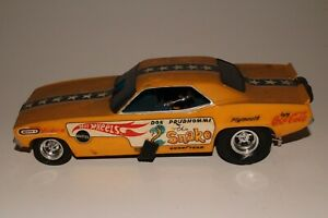 Monogram 1970 Plymouth Barracuda Hot Wheels The Snake Funny Car Original Kit